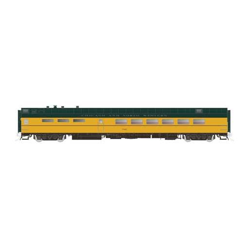 Rapido Trains Inc. HO Lightweight PS Diner, C&NW #7800