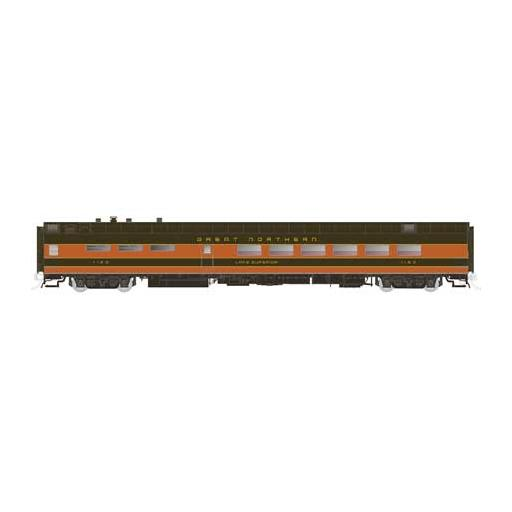 Rapido Trains Inc. HO Lightweight PS Diner, GN/Lake Michigan #1154