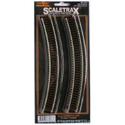 "Click here to learn more about the M.T.H. Electric Trains HO C83 ScaleTrax 18"" Radius Curve (6)."