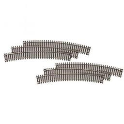 "Click here to learn more about the M.T.H. Electric Trains HO C83 ScaleTrax 22"" Radius Curve (6)."