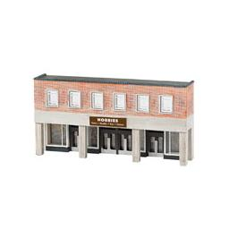 Click here to learn more about the Bachmann Industries N Building Front, Hobby Store.