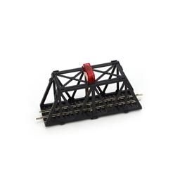 Click here to learn more about the Bachmann Industries N Built Up Blinking Bridge.