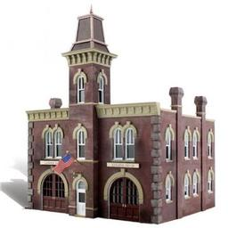 Click here to learn more about the Woodland Scenics N Built-Up Firehouse.