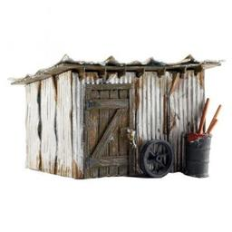 Click here to learn more about the Woodland Scenics N Built-Up Tin Shack.