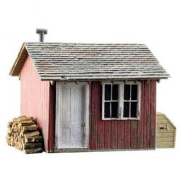 Click here to learn more about the Woodland Scenics N Built-Up Work Shed.