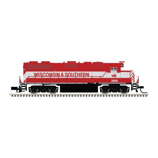 Atlas Model Railroad N GP38-2 w/DCC & Sound, WSOR #3809