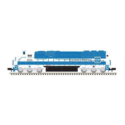 Atlas Model Railroad N SD60, EMDX #9002