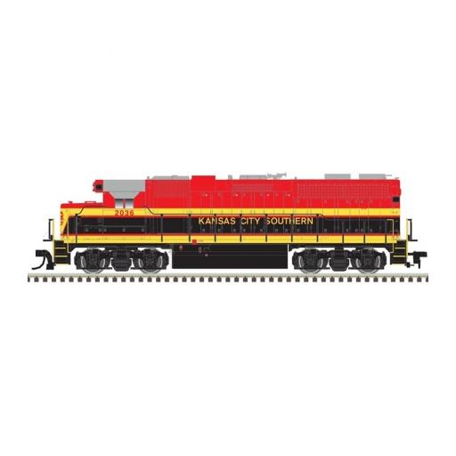 Atlas Model Railroad N GP38 w/DCC & Sound, KCS #2036