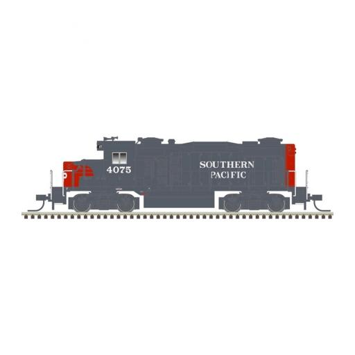 Atlas Model Railroad N GP-20 w/DCC & Sound, SP/Gray/Scarlet #4075