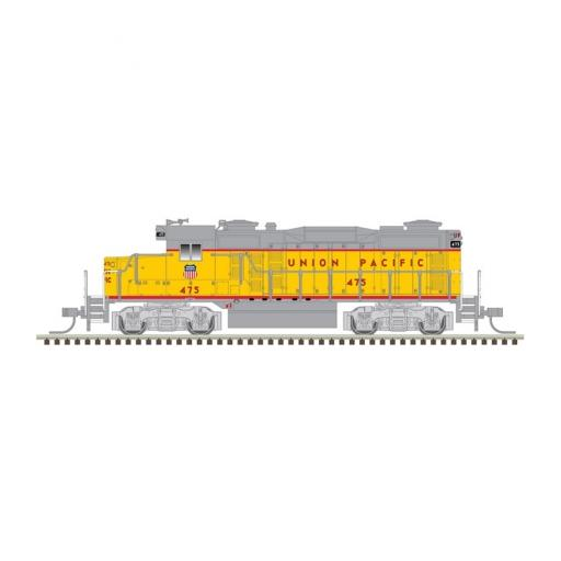 Atlas Model Railroad N GP-20 w/DCC & Sound, UP/Yellow/Gray/Red #475