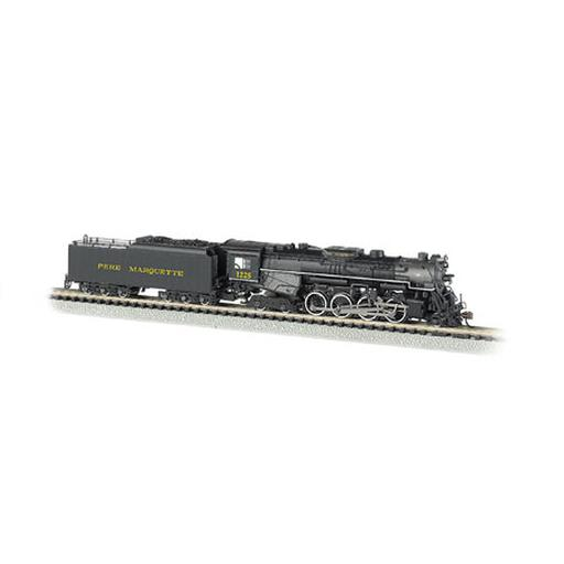 Bachmann Industries N 2-8-4 w/DCC & Sound Value, PM #1225