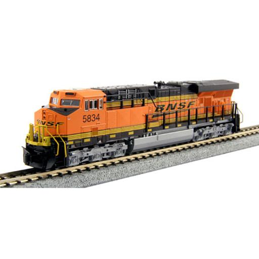 Kato USA, Inc. N ES44AC, BNSF/Wedge #5834