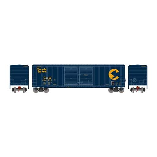 Athearn N 50'' FMC Double Door Box, C&O #486237
