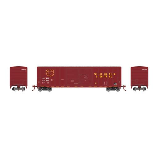 Athearn N 50'' FMC Double Door Box, WC #SSAM 43637