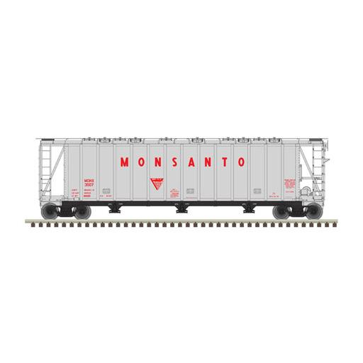 Atlas Model Railroad N 3500 Cubic Foot Dry Flo Hop , Monsanto #3502
