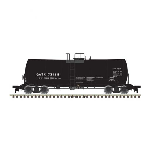 Atlas Model Railroad N 17,600-Gallon Tank Car, GATX #73196