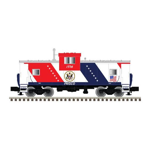 Atlas Model Railroad N Extended Vision Caboose, Frisco #1776