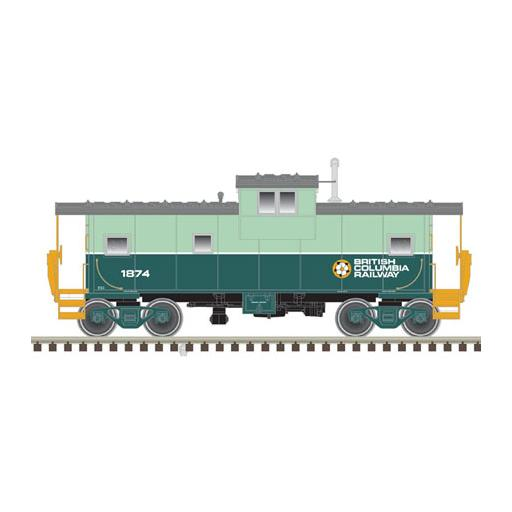 Atlas Model Railroad N Extended Vision Caboose, BCR #1870
