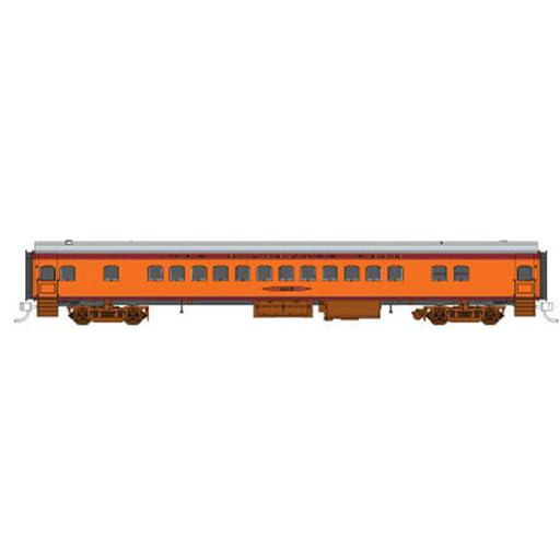 Fox Valley Models N Hiawatha Coach, MILW #4415