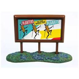 Click here to learn more about the Classic Metal Works N 1960s Country Billboard, Planters Peanuts.