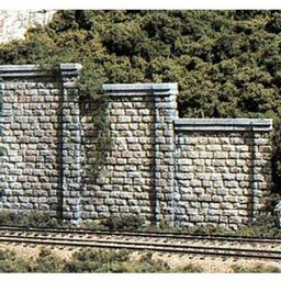 Click here to learn more about the Woodland Scenics N Retaining Wall, Cut Stone (6).