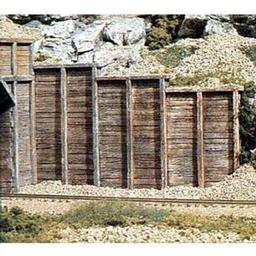 Click here to learn more about the Woodland Scenics N Retaining Wall, Timber (6).