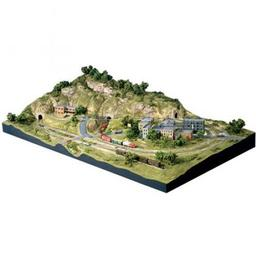 Click here to learn more about the Woodland Scenics N Scenic Ridge Layout Kit.