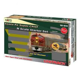 Click here to learn more about the Kato USA, Inc. N Super Chief Starter Set, SF.