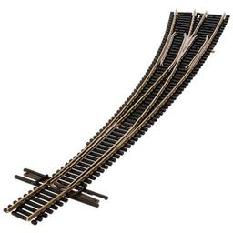 Click here to learn more about the Atlas Model Railroad N Code 55 Curved Left-Hand Turnout.
