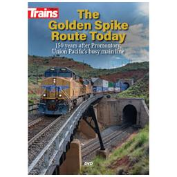 Click here to learn more about the Kalmbach Publishing Co. The Golden Spike Route Today DVD.