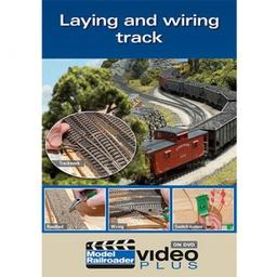 Click here to learn more about the Kalmbach Publishing Co. Laying and Wiring Track DVD.