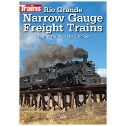 Click here to learn more about the Kalmbach Publishing Co. Rio Grande Narrow Gauge Freight Trains DVD.