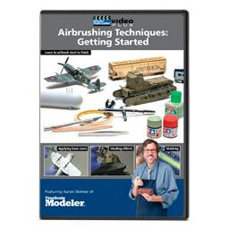 Click here to learn more about the Kalmbach Publishing Co. Airbrushing Technique: Getting Started DVD.