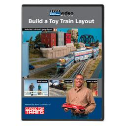 Click here to learn more about the Kalmbach Publishing Co. Build a Toy Train Layout DVD.