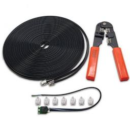 Click here to learn more about the Digitrax, Inc. LocoNet Cable Maker Kit.