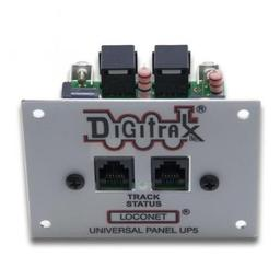 Click here to learn more about the Digitrax, Inc. Loconet Universal Panel.
