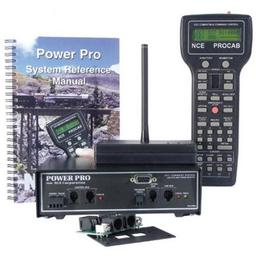 Click here to learn more about the NCE Corporation Power Pro Starter Set w/Radio, PH-PRO-R/5A.