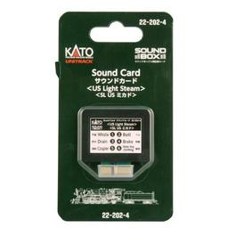 Click here to learn more about the Kato USA, Inc. Sound Card, US Light Steam.