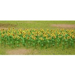 "Click here to learn more about the JTT Scenery Products Sunflowers, 1"" (16)."
