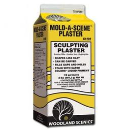 Click here to learn more about the Woodland Scenics Mold-A-Scene Plaster, 104 cu. in..