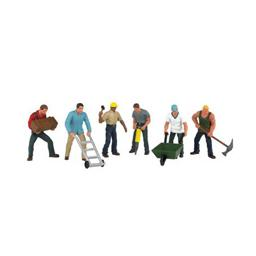 Click here to learn more about the Bachmann Industries O Construction Workers (6).