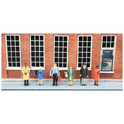 Click here to learn more about the Bachmann Industries O Standing Office Workers.