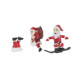 Click here to learn more about the M.T.H. Electric Trains O Santa Figures (3).