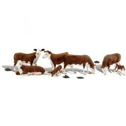 Click here to learn more about the Woodland Scenics O Hereford Cows.