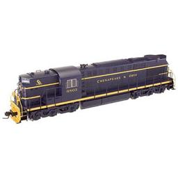 Click here to learn more about the Atlas O, LLC O Trainman RSD7/15 with TMCC, C&O #6801.