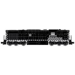 Click here to learn more about the Atlas O, LLC O Trainman RSD7/15 with TMCC, SF #604.
