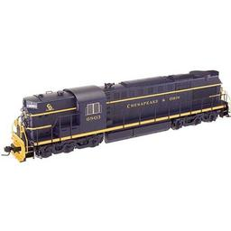 Click here to learn more about the Atlas O, LLC O Trainman RSD7/15 w/DCC & Sound, C&O #6801 (2R).