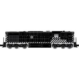 Click here to learn more about the Atlas O, LLC O Trainman RSD7/15 w/DCC & Sound, SF #604 (2R).
