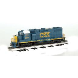 Click here to learn more about the Bachmann Industries O Williams GP-38, CSX/Dark Future.