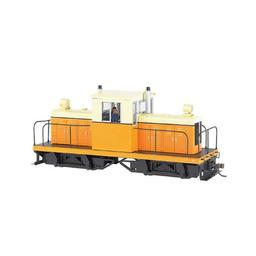 Click here to learn more about the Bachmann Industries On30 Spectrum 50-Ton Center Cab, Orange/Cream.